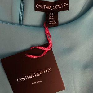 Cynthia Rowley beautiful teal dress